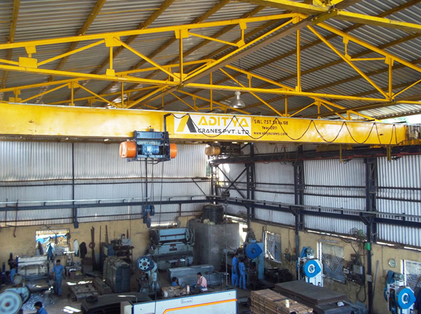 Single Girder EOT Cranes Manufacturer and Supplier